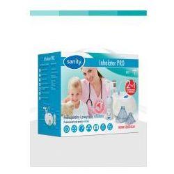 Sanity Profesjonalny Inhalator Pro 2w1 + Irygator Oczyszczanie i Inhalacja (inhalator)