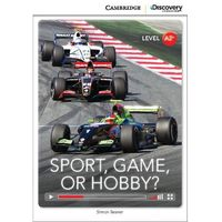Język angielski, Sport, Game or Hobby? Low intermediate book with online access. Cambridge