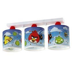 Klik 60883 - Oprawa sufitowa dziecięca ANGRY BIRDS 3xE27/60W - produkt z kategorii- Oświetlenie dla dzieci
