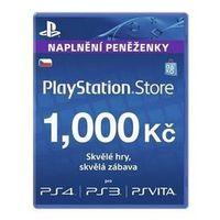 Sony Karta pre-paid  playstation live cards 1000kč - ps store - czeska (ps719894032)