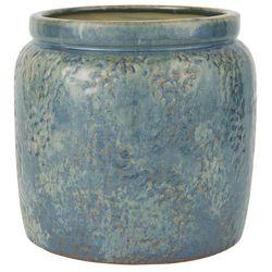 Ib Laursen - Doniczka ceramiczna Ocean Blue bez dziury mała
