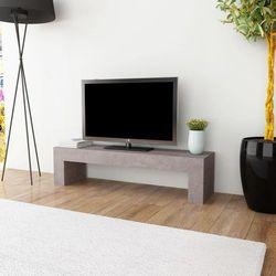 vidaXL Szafka pod telewizor stylizowana na beton, 120x30x30 cm