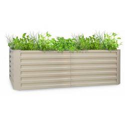 Blumfeldt Blum High Grow Straight, grządka podwyższona, 200 x 60 x 100 cm, 1200 l, stal