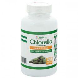 Chlorella 250 mg 400 tabl. (Myvita) - produkt farmaceutyczny
