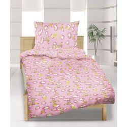 Bellatex Pościel bawełniana dziecięca do łóżeczka Niedźwiad,