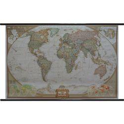 World Executive National Goographic Świat mapa ścienna National Goographic ze sklepu ArtTravel.pl
