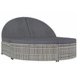 2-osobowy leżak z poduszkami - Labia