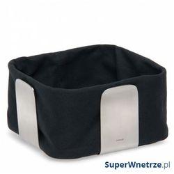 Bawełniany wkład do koszyka na pieczywo 25,5 cm desa czarny marki Blomus