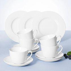 Villeroy&boch twist white zestaw obiadowy 12el.(4os.)