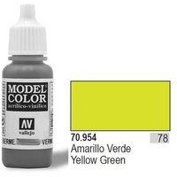 farba nr78 yellow green 17ml wyprodukowany przez Vallejo