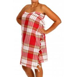 Produkcja własna Sauna chusta- hammam ręcznik 100% bawełna czerwony
