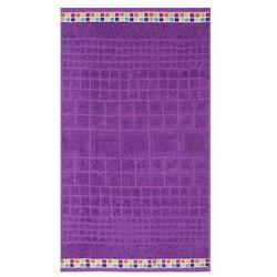 ręcznik kąpielowy mozaik fioletowy, 70 x 130 cm, 70 x 130 cm wyprodukowany przez Night in colours