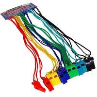 Spokey Zestaw gwizdków plastikowych  happy song 83601 + zamów z dostawą jutro! (5907640836011)