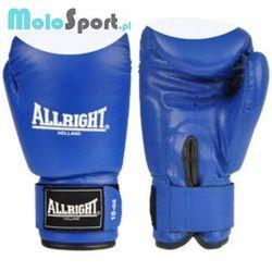 Rękawice bokserskie Allright PVC niebiesko-białe z kategorii Rękawice do walki
