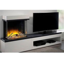 Kominek wolnostojący Flamerite Fires Tropo 600 Link z szafką pod TV. Efekt płomienia Nitra Flame- 20 kolorów ognia - PROMOCJA, Flamerite Fires Fires Tropo 600 Link Nitra Flame