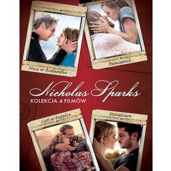 Film GALAPAGOS Nicolas Sparks - pakiet filmów (4 DVD: List w butelce, Noce w Rodanthe, Pamiętnik, Szczęści