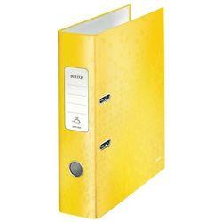 Leitz Segregator wow a4/80 180 żółty 10050016