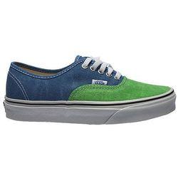 Buty  authentic - zielony ||niebieski, marki Vans