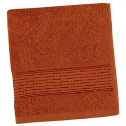 Bellatex  ręcznik kamilka pasek terra, 50 x 100 cm