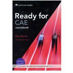 Ready for CAE Student's Book (podręcznik) without Key (ISBN 9780230028876)