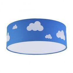 Plafon oprawa sufitowa TK Lighting Sky 4x15W E27 LED niebieski/biały 2423 (5901780524234)