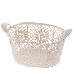 Home&you Kosz crochet oval