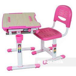 Bambino Pink - Ergonomiczne, regulowane biurko dziecięce + krzesełko FunDesk - ZŁAP RABAT: KOD30