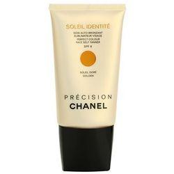 précision soleil identité samoopalający krem do twarzy spf 8, marki Chanel