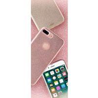 PURO Glitter Shine Cover - Etui iPhone 7 Plus (Silver) (8033830173387)
