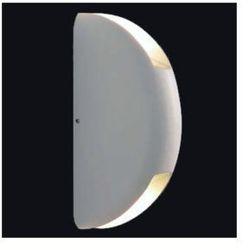Elewacyjna LAMPA ścienna MILA 090 kinkiet OPRAWA LED 6W do ogrodu IP44 outdoor biała