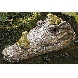Aligator krokodyl do oczka wodnego 30 cm OGRÓD OCZKO DEKORACJA