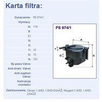 Filtr paliwa PS 974/1 - produkt z kategorii- Filtry paliwa