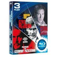 Imperial cinepix Pakiet: polowanie na czerwony październik / czas patriotów / stan zagrożenia (blu-ray) - v