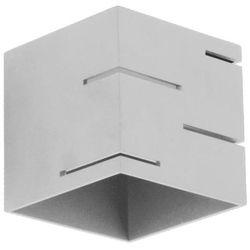 Lampex Kinkiet quado modern a popiel - popiel