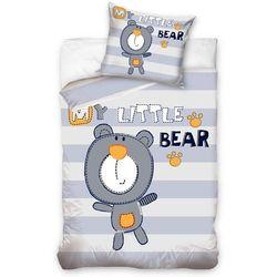4home Carbotex dziecięca pościel bawełniana my little bear 140x200 70x80