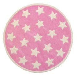 Kids conce Pt dywan star, kolor różowy