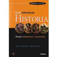 Historia. Testy maturalne, oprawa miękka