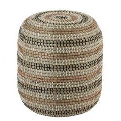 Producent: elior Okrągła pufa elpo - naturalna