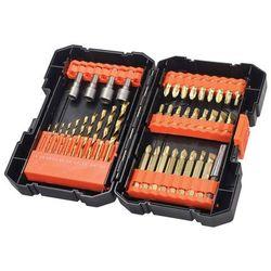 Black+Decker 41-częściowy zestaw - wiertła, bity i klucze nasadowe (A7227-XJ) (5035048542934)