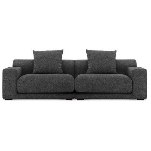 Sofa - 2,5-osobowa - tapicerowana - grafit - CLOUD - sprawdź w Beliani