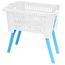 Kosz na pranie, pojemnik z nóżkami - 38l (5902026794299)
