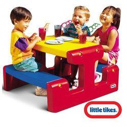 Little tikes Mały stolik piknikowy