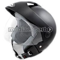 Kask motocyklowy TORNADO GT - CZARNY