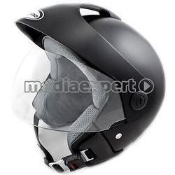 Kask motocyklowy TORNADO GT - CZARNY + Zamów z DOSTAWĄ JUTRO!
