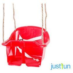 Huśtawka kubełkowa ECO - czerwony, kup u jednego z partnerów