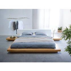 Łóżko jasnobrązowe 180 x 200 cm ZEN