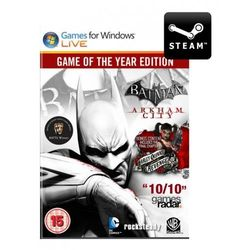 Batman: Arkham City Game of the Year Edition - Klucz - produkt z kategorii- Kody i karty pre-paid