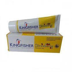Pasta do zębów dla dzieci o smaku truskawkowym bez fluoru 75ml - Kingfisher - sprawdź w wybranym sklepie