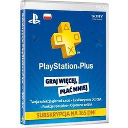 Karta Abonament Playstation Plus 365 dni (PS3, PS4, PS Vita) - Klucz - produkt z kategorii- Kody i karty pre-p
