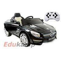 Super-toys Mercedes sl63 amg sl 63 pilot 2,4ghz z amortyzatory, miękkie koła, miękkie siedzenie, auto na ak